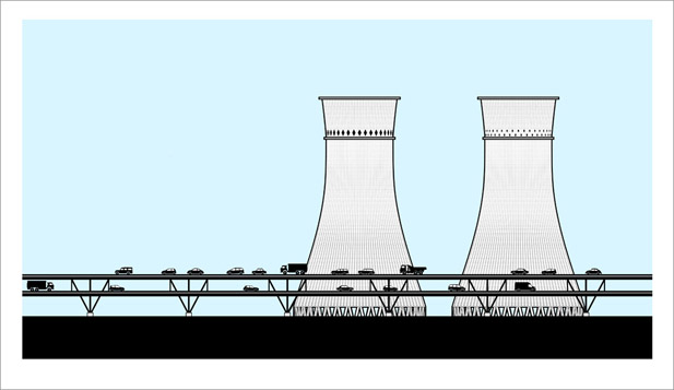 cooling Towers, SheffieldThe